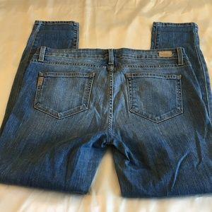 Paige Verdugo Ankle Cut Destructed Jeans